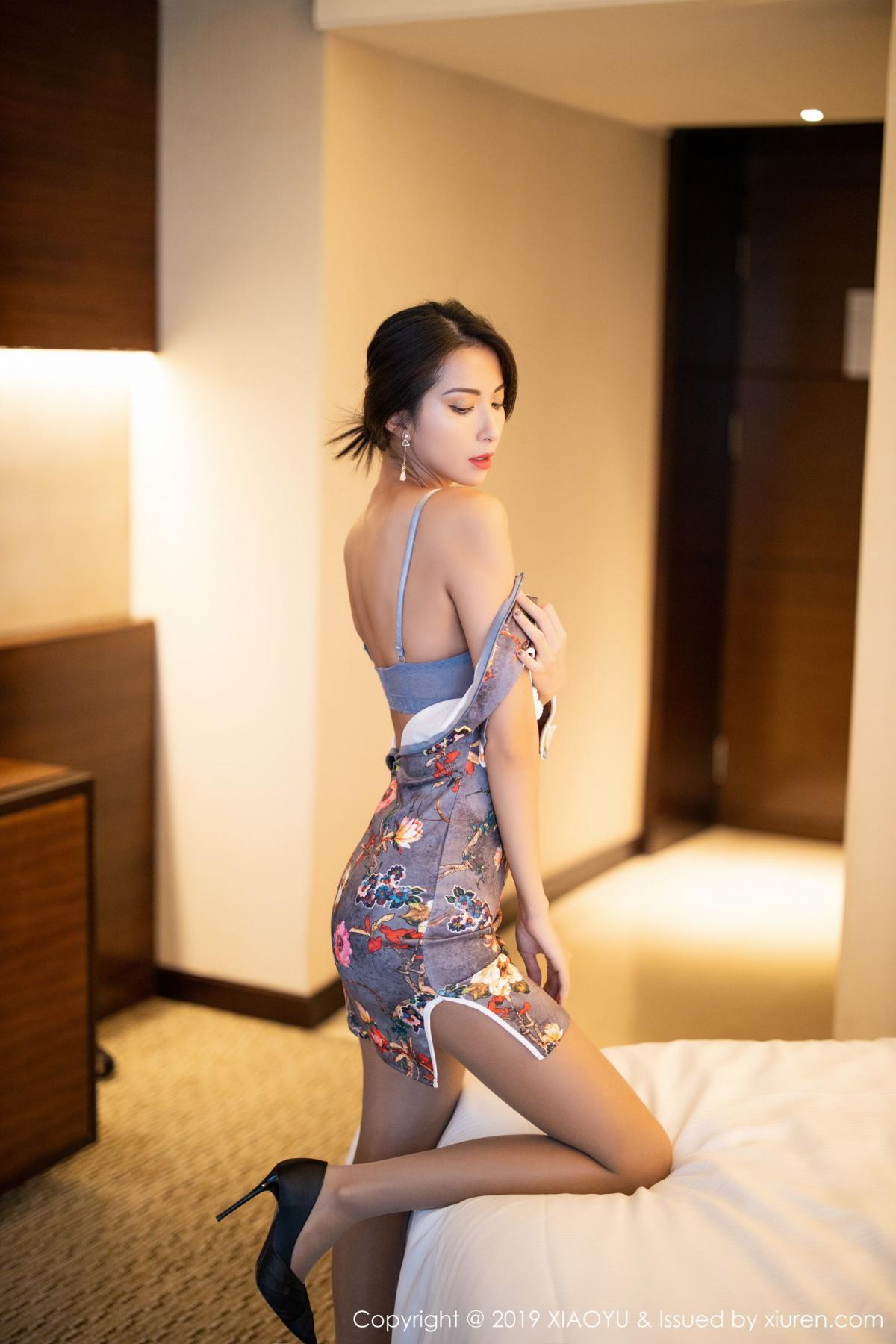 [XiaoYu] Vol.196 Chen Liang Ling 42P, Chen Liang Ling, Cheongsam, Temperament, Underwear, XiaoYu
