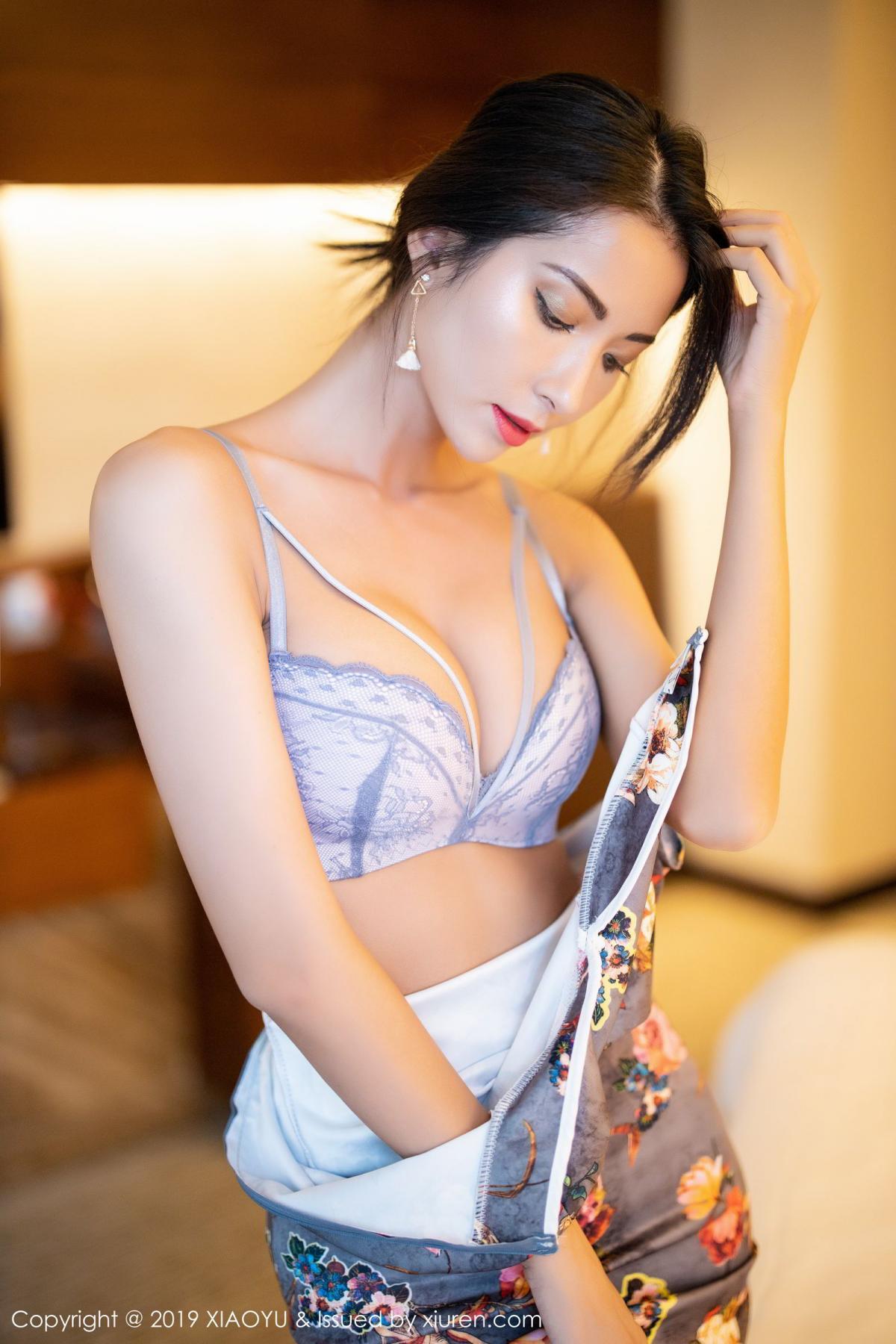 [XiaoYu] Vol.196 Chen Liang Ling 49P, Chen Liang Ling, Cheongsam, Temperament, Underwear, XiaoYu