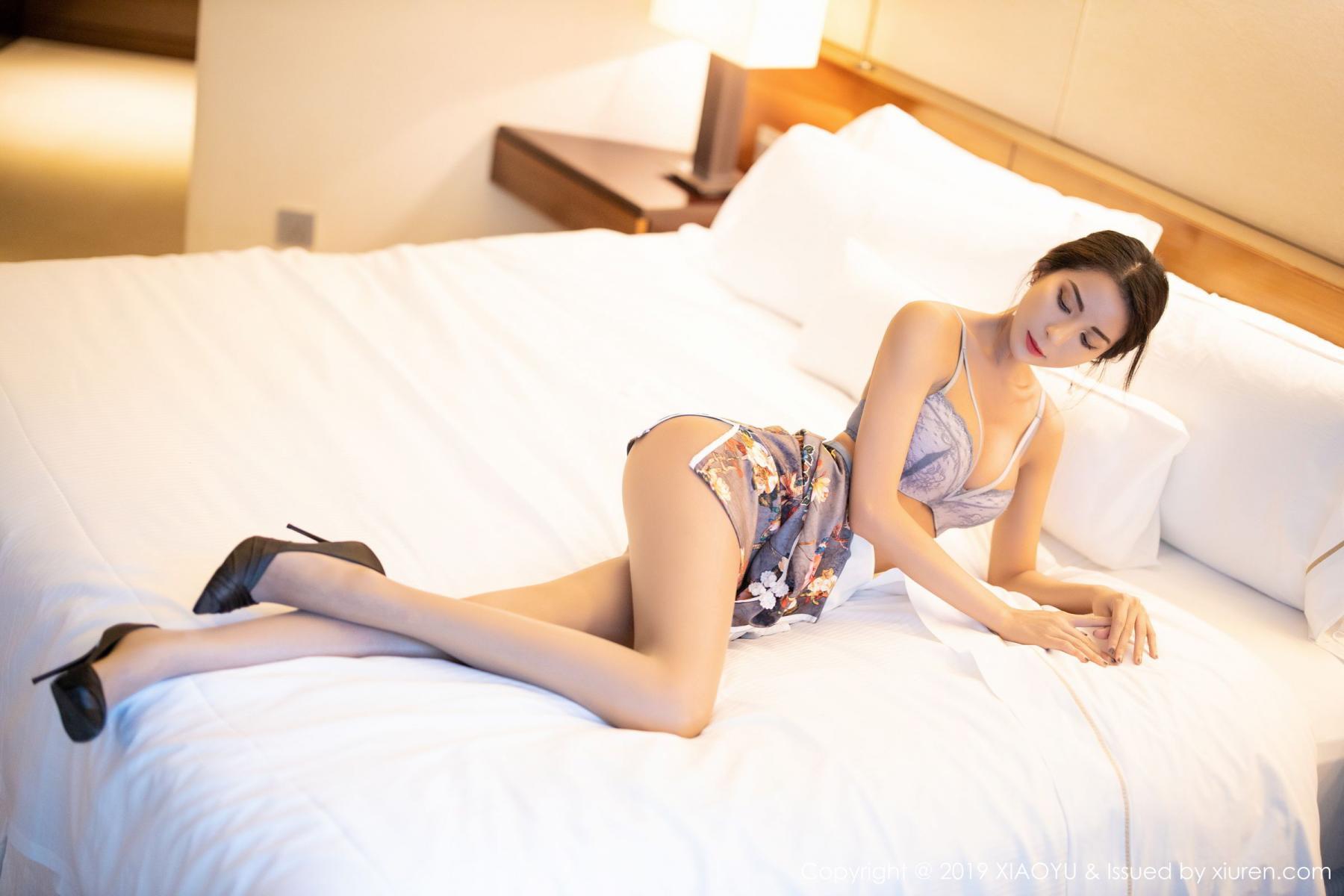 [XiaoYu] Vol.196 Chen Liang Ling 55P, Chen Liang Ling, Cheongsam, Temperament, Underwear, XiaoYu