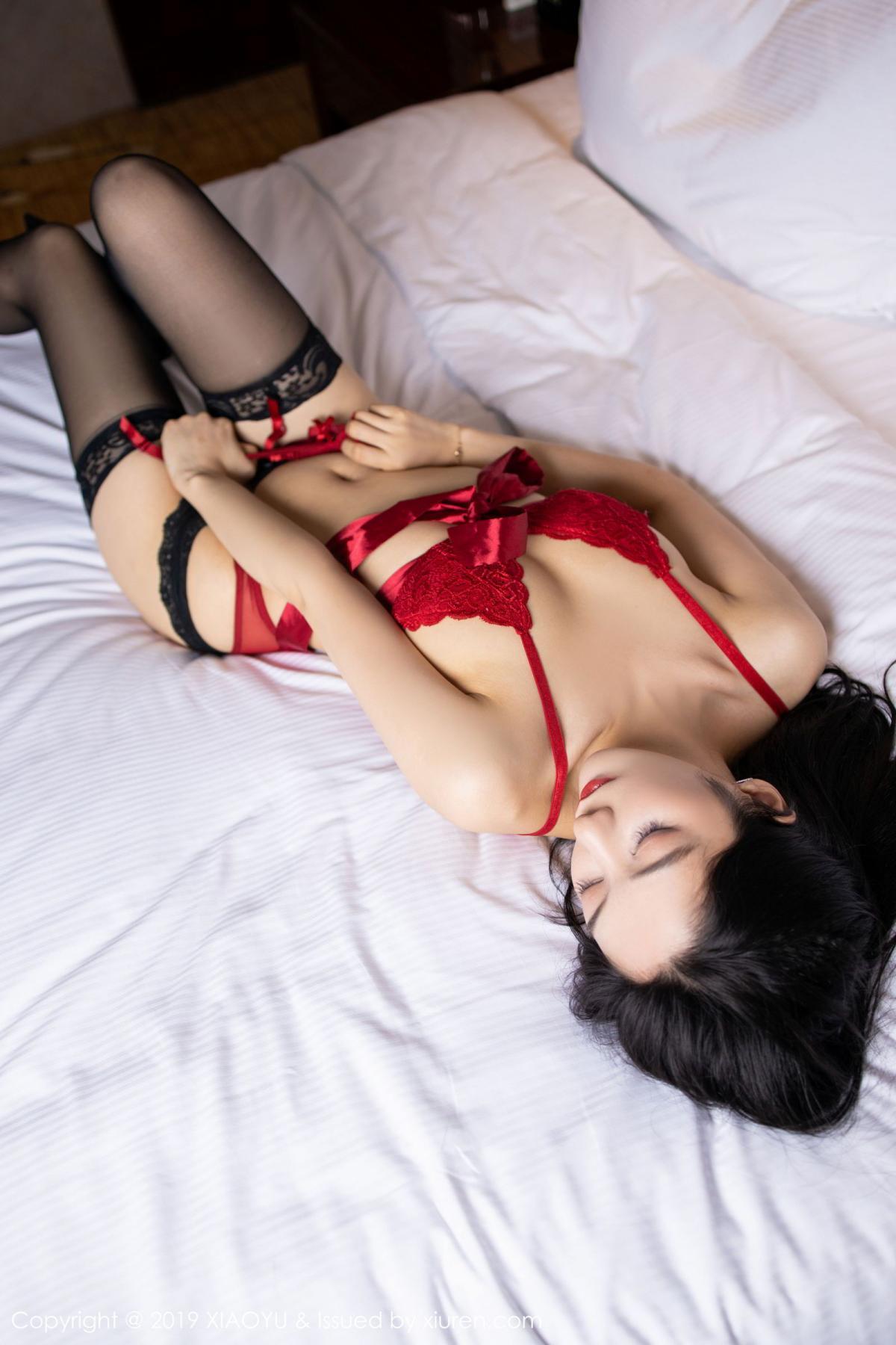 [XiaoYu] Vol.198 Di Yi 41P, Black Silk, Di Yi, Underwear, XiaoYu
