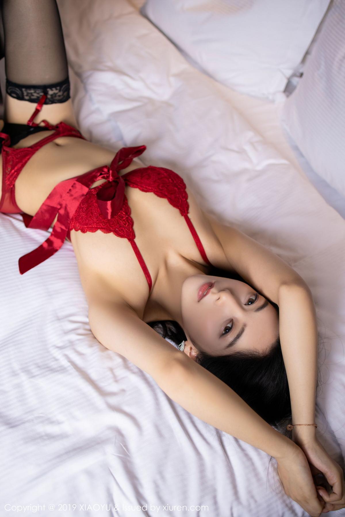 [XiaoYu] Vol.198 Di Yi 49P, Black Silk, Di Yi, Underwear, XiaoYu