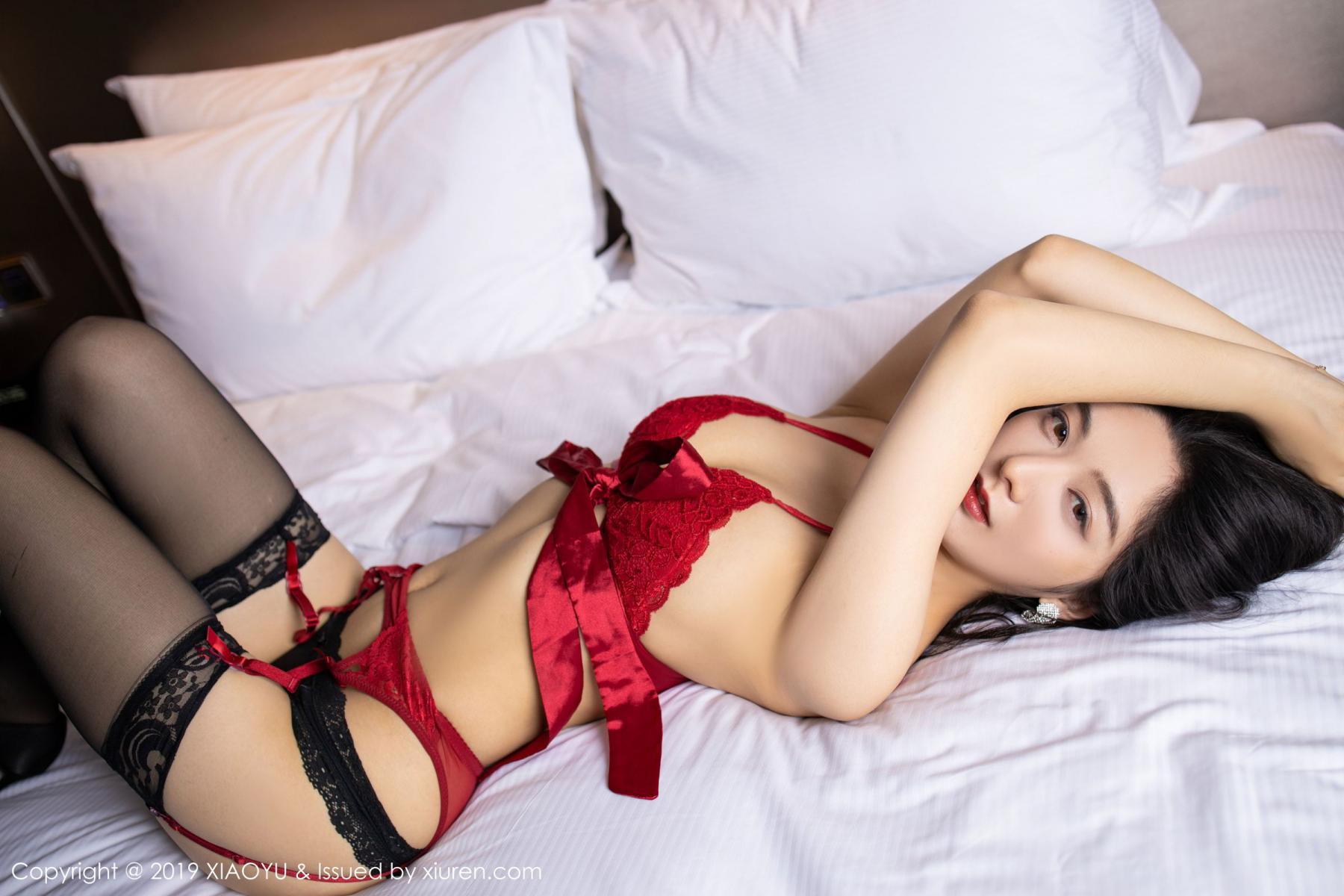 [XiaoYu] Vol.198 Di Yi 51P, Black Silk, Di Yi, Underwear, XiaoYu