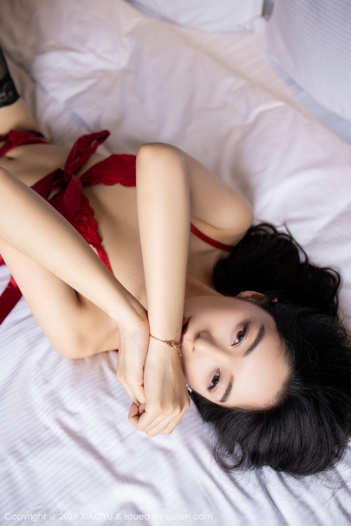 [XiaoYu] Vol.198 Di Yi 53P, Black Silk, Di Yi, Underwear, XiaoYu
