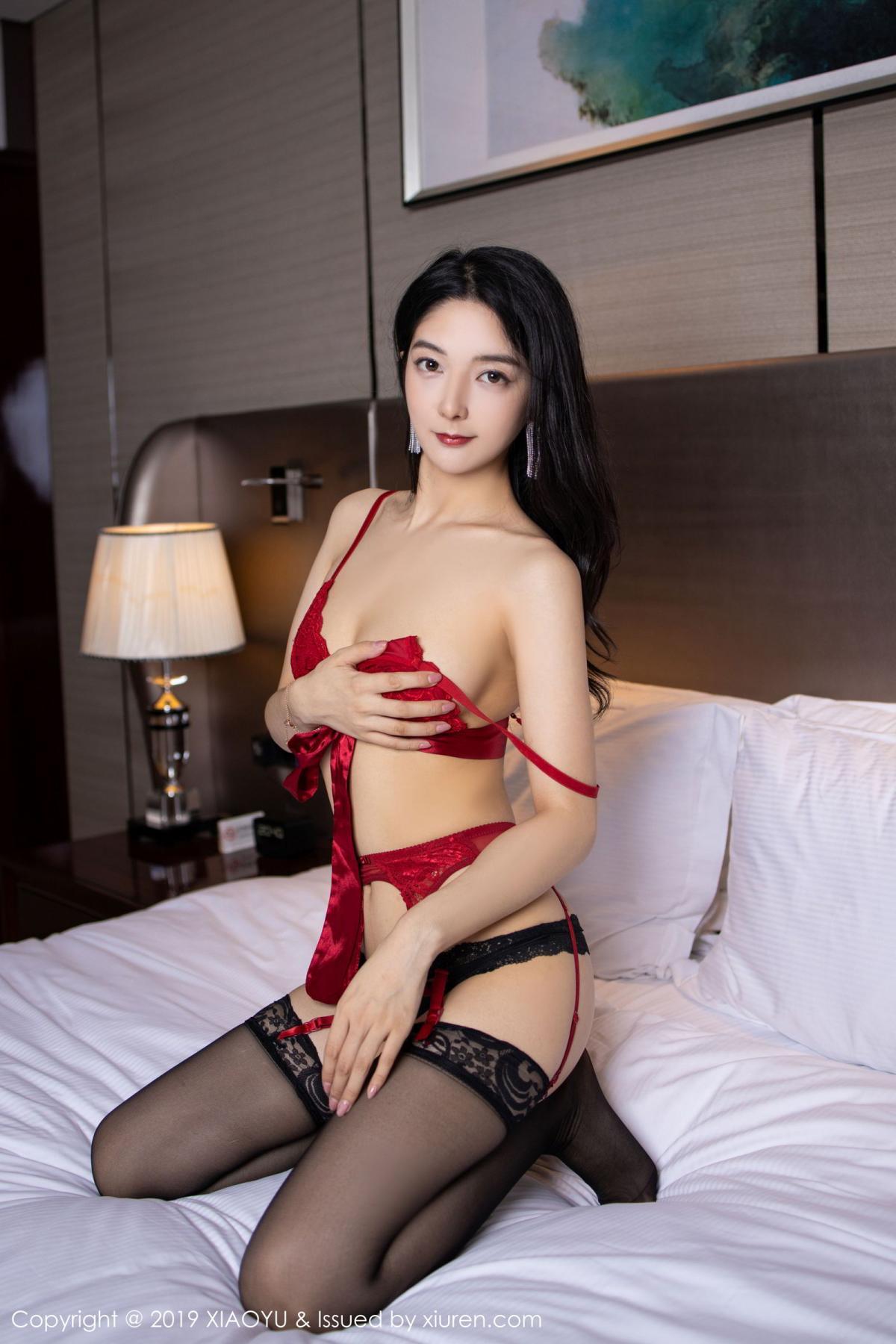 [XiaoYu] Vol.198 Di Yi 63P, Black Silk, Di Yi, Underwear, XiaoYu