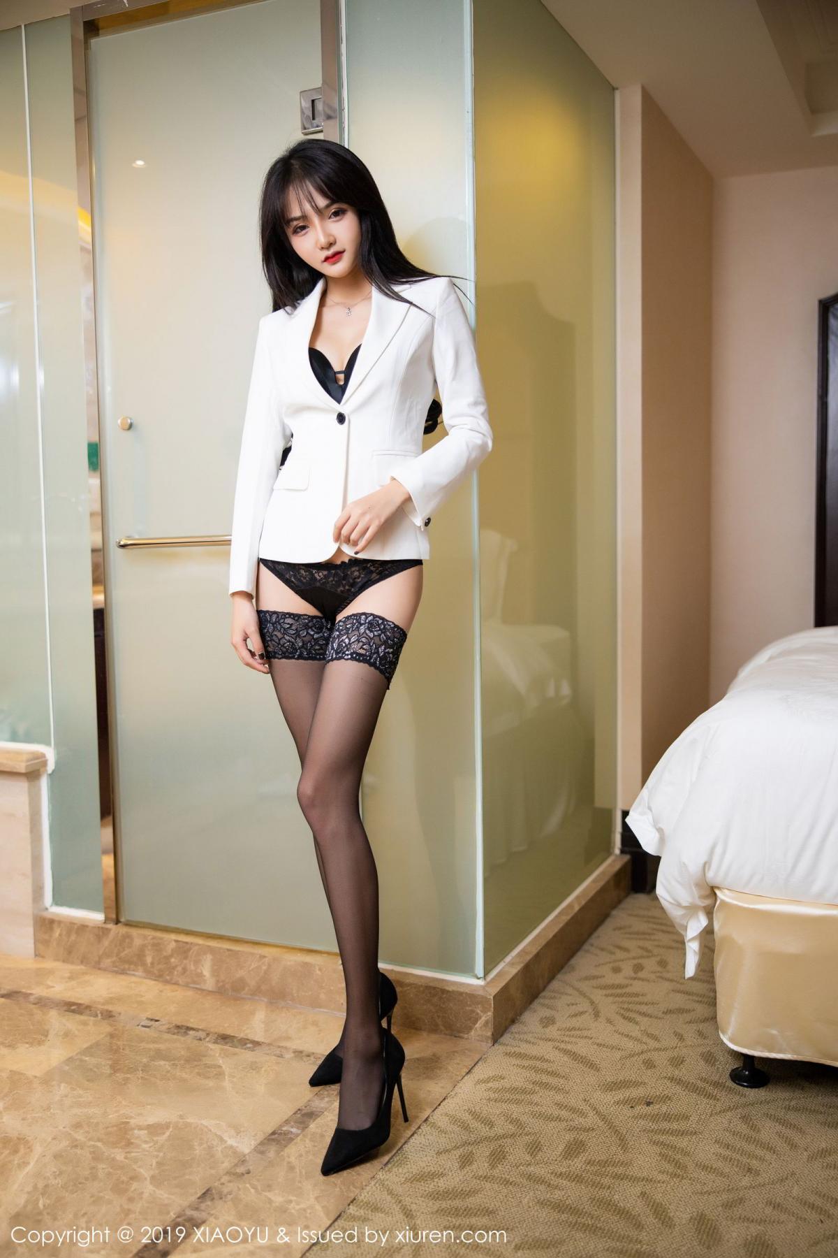 [XiaoYu] Vol.200 Miko Jiang 12P, Miko Jiang, Slim, Tall, Underwear, XiaoYu