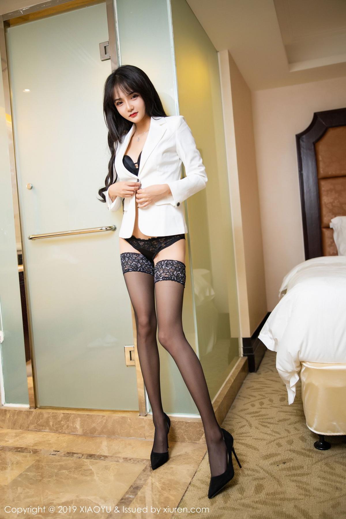 [XiaoYu] Vol.200 Miko Jiang 17P, Miko Jiang, Slim, Tall, Underwear, XiaoYu
