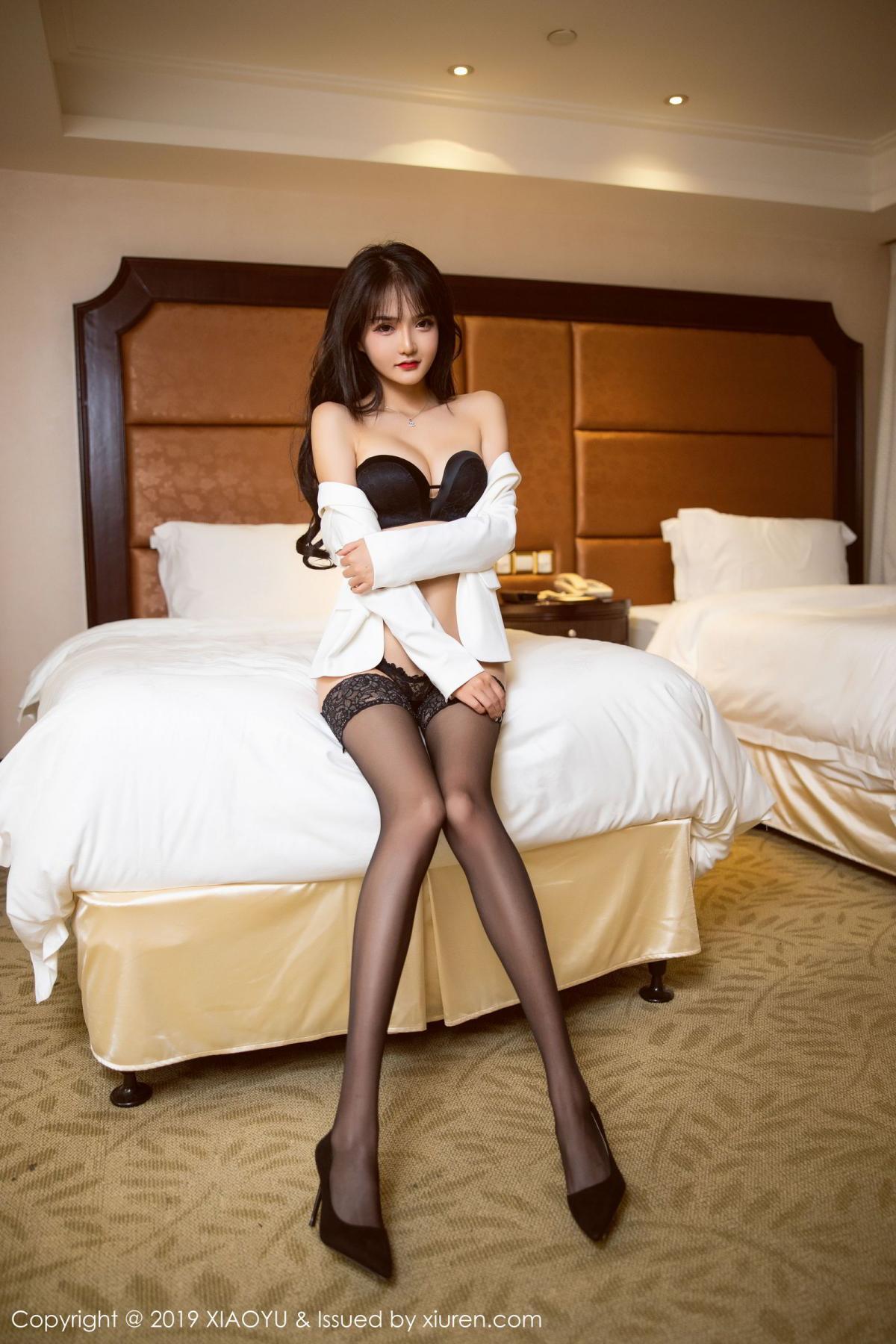 [XiaoYu] Vol.200 Miko Jiang 18P, Miko Jiang, Slim, Tall, Underwear, XiaoYu