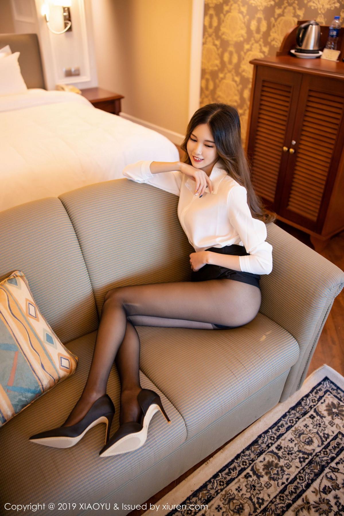 [XiaoYu] Vol.201 Cheng Cheng Cheng 33P, Black Silk, Cheng Cheng Cheng, Uniform, XiaoYu