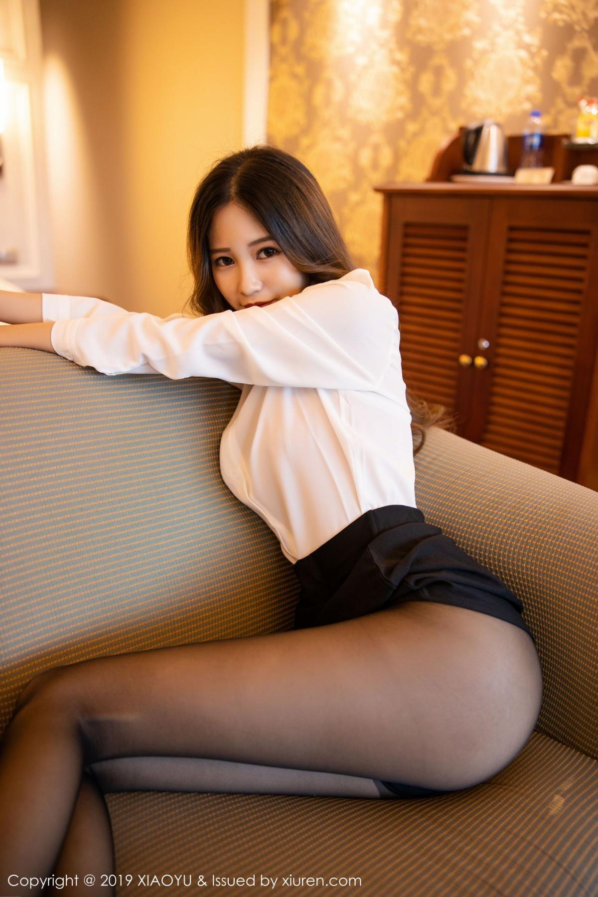 [XiaoYu] Vol.201 Cheng Cheng Cheng 36P, Black Silk, Cheng Cheng Cheng, Uniform, XiaoYu