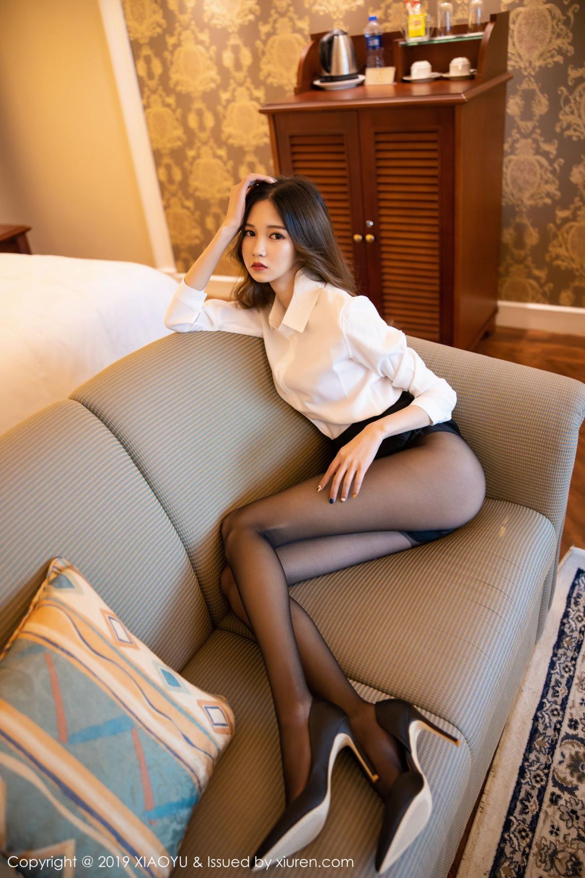 [XiaoYu] Vol.201 Cheng Cheng Cheng 37P, Black Silk, Cheng Cheng Cheng, Uniform, XiaoYu