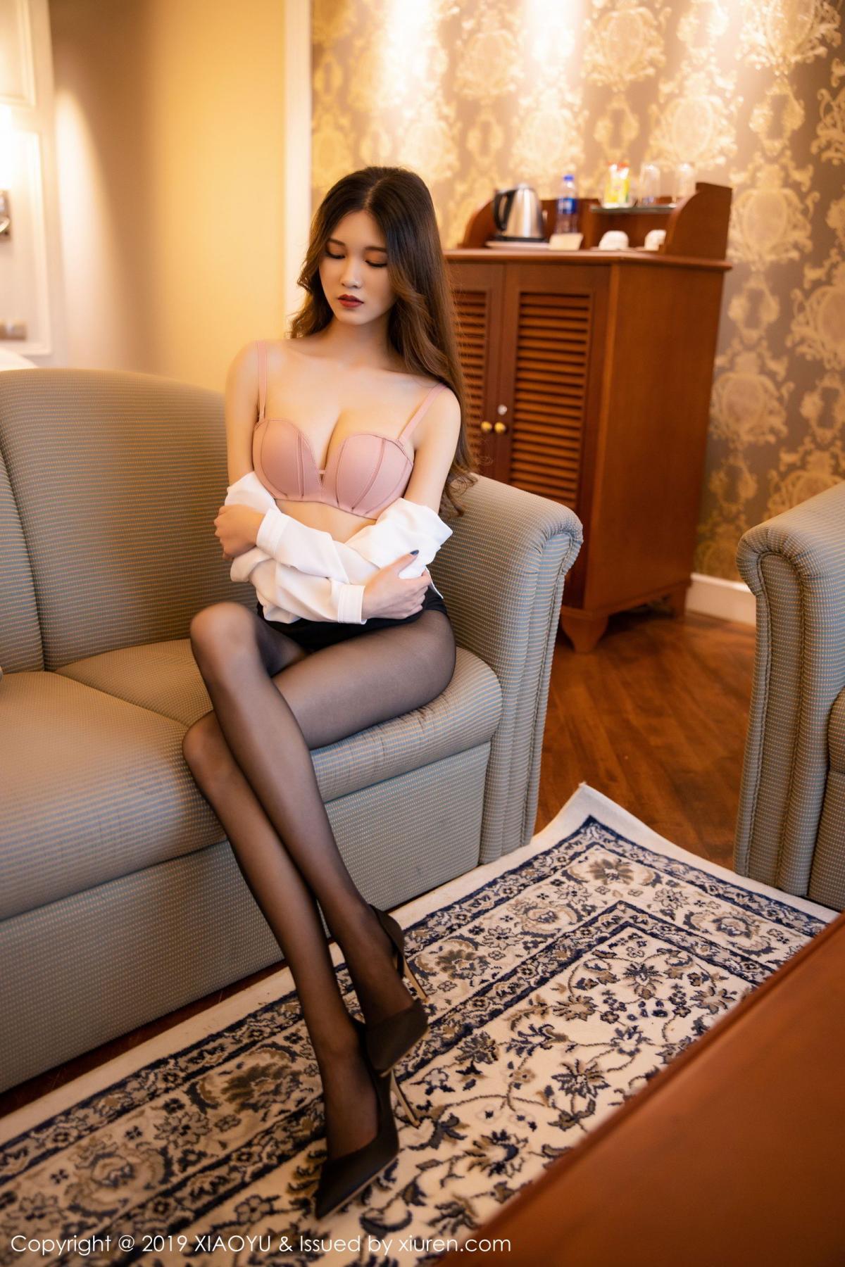 [XiaoYu] Vol.201 Cheng Cheng Cheng 52P, Black Silk, Cheng Cheng Cheng, Uniform, XiaoYu