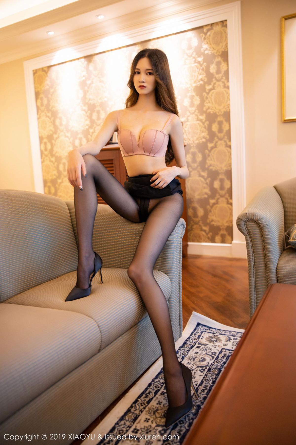 [XiaoYu] Vol.201 Cheng Cheng Cheng 55P, Black Silk, Cheng Cheng Cheng, Uniform, XiaoYu