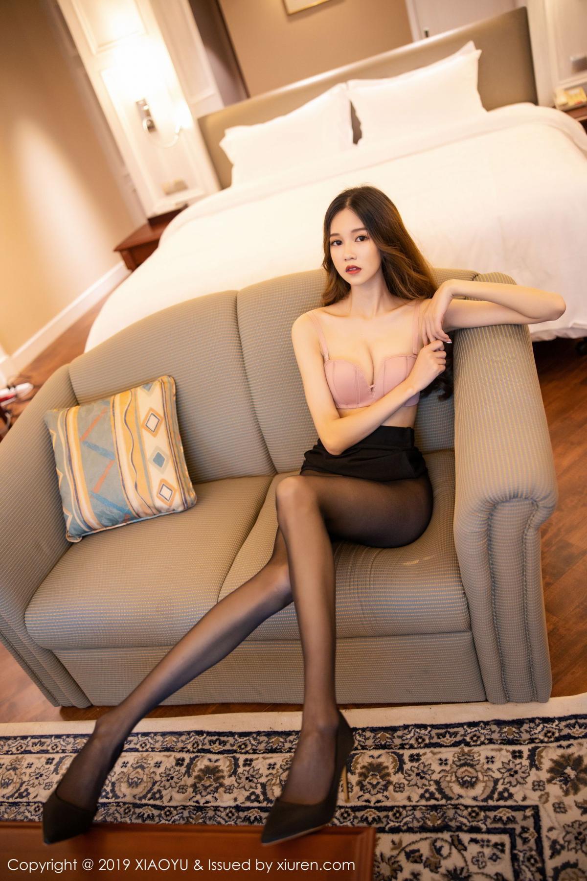 [XiaoYu] Vol.201 Cheng Cheng Cheng 58P, Black Silk, Cheng Cheng Cheng, Uniform, XiaoYu