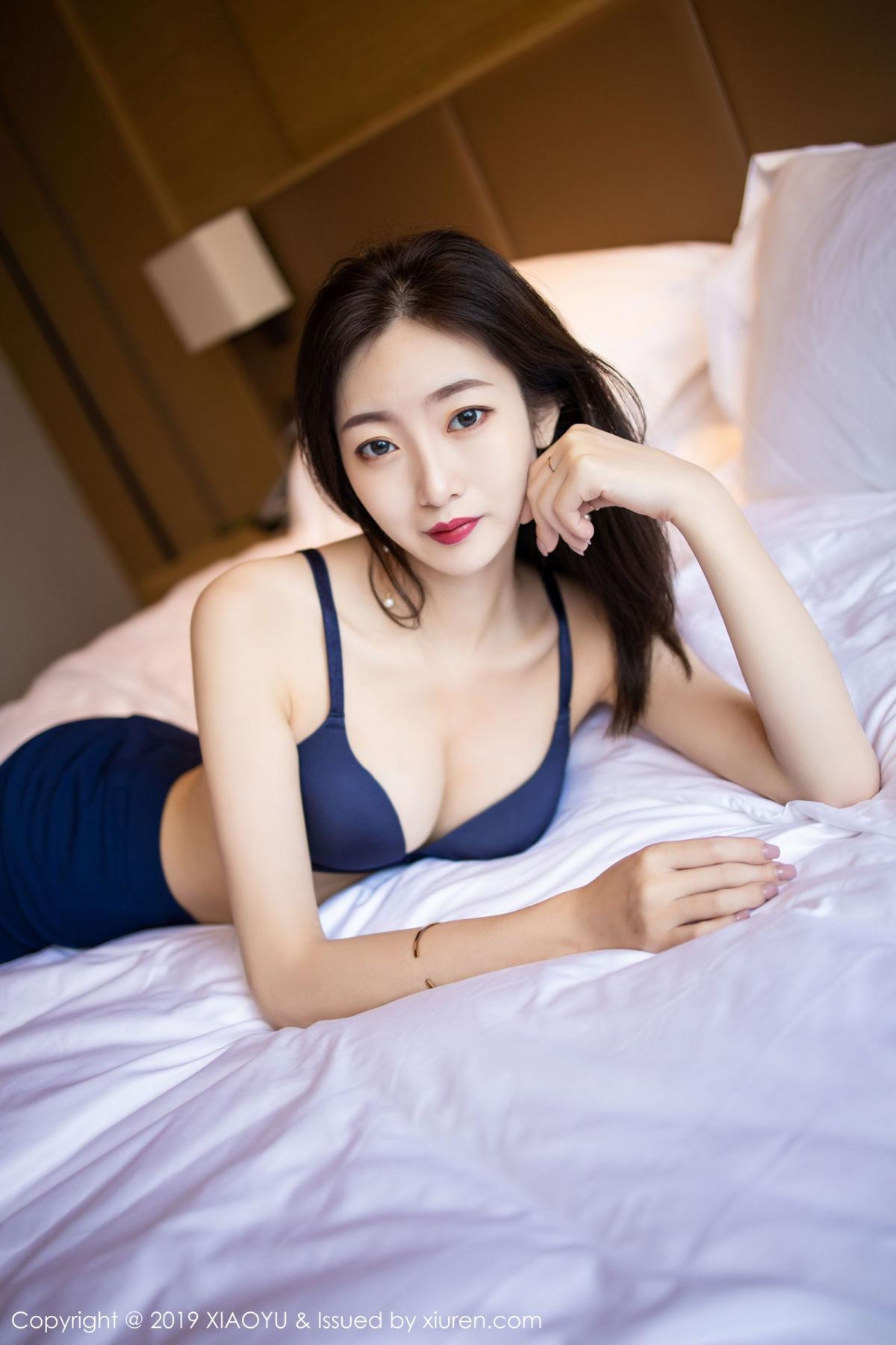 [XiaoYu] Vol.203 An Qi Yee 47P, An Qi Yee, Black Silk, Tall, Uniform, XiaoYu