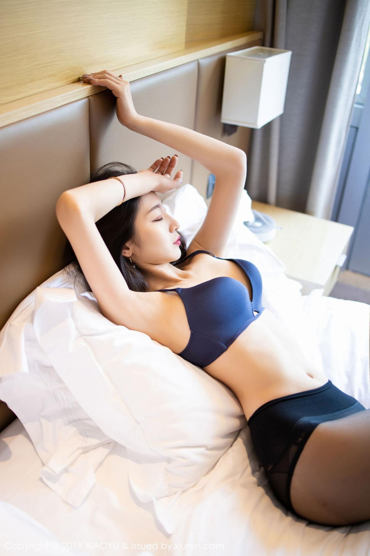 [XiaoYu] Vol.203 An Qi Yee 53P, An Qi Yee, Black Silk, Tall, Uniform, XiaoYu