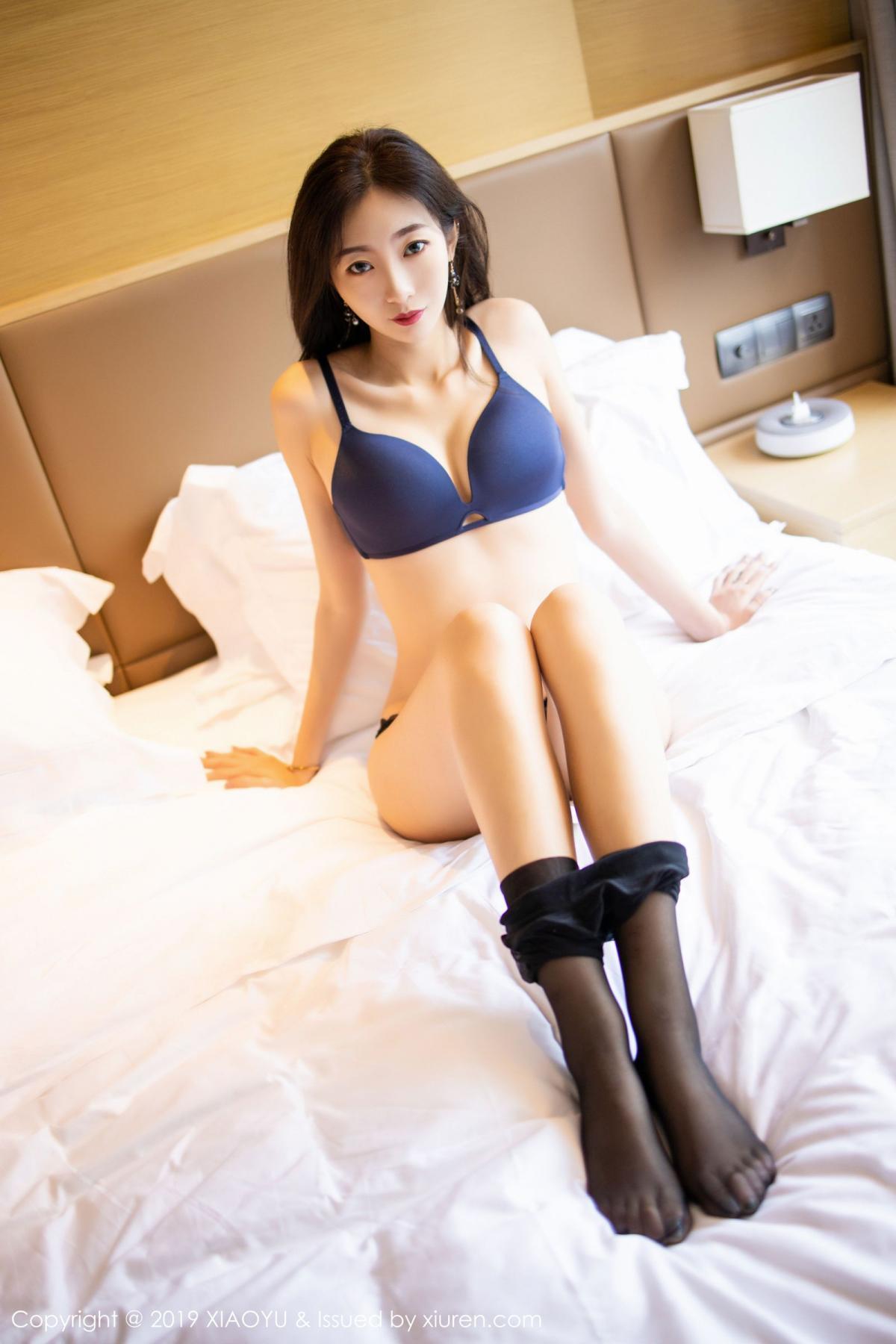 [XiaoYu] Vol.203 An Qi Yee 56P, An Qi Yee, Black Silk, Tall, Uniform, XiaoYu