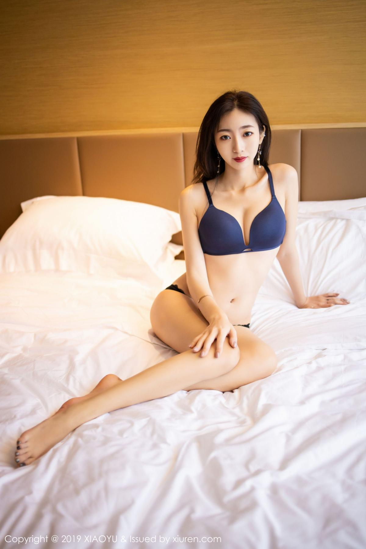[XiaoYu] Vol.203 An Qi Yee 57P, An Qi Yee, Black Silk, Tall, Uniform, XiaoYu
