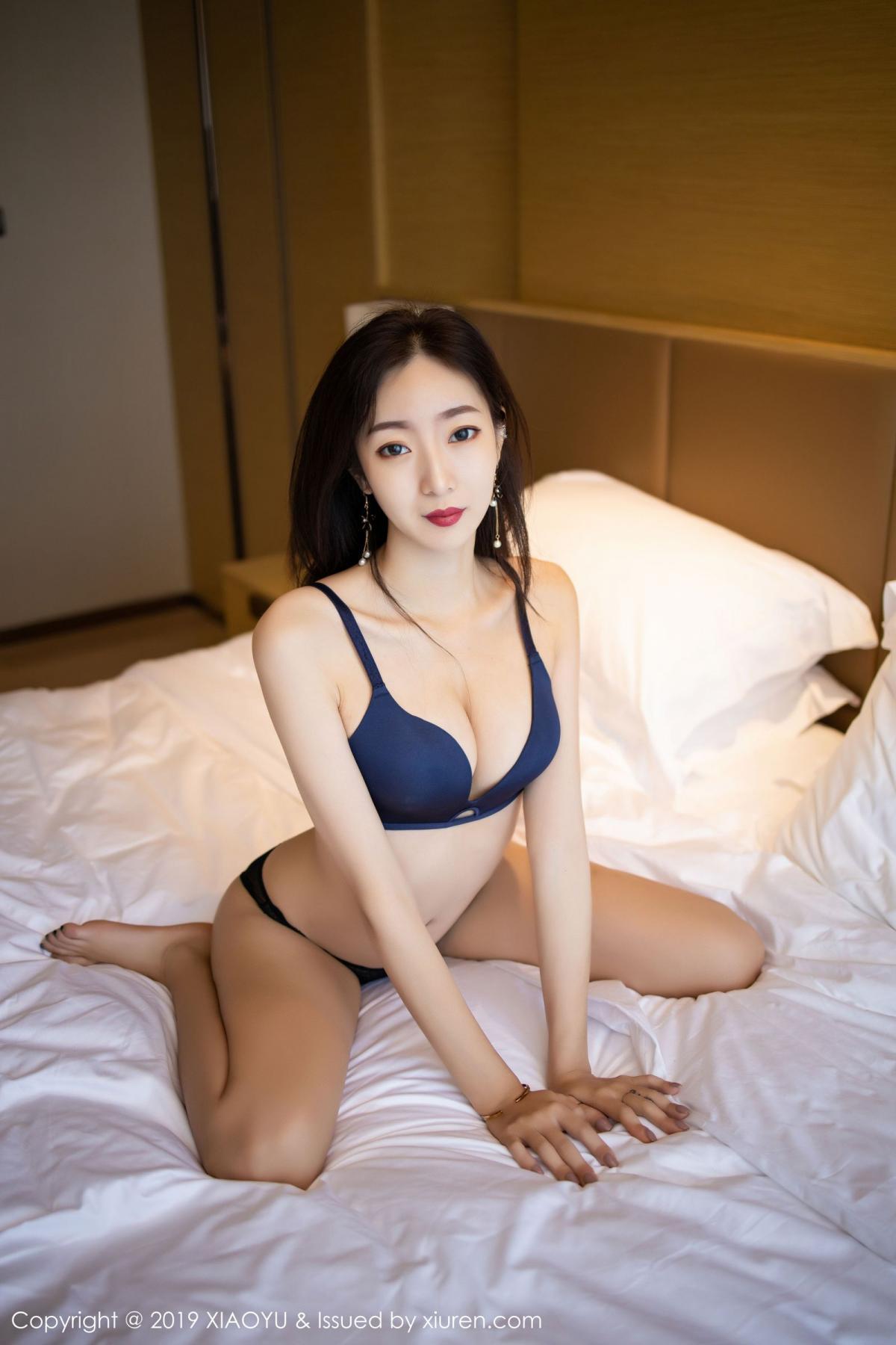 [XiaoYu] Vol.203 An Qi Yee 62P, An Qi Yee, Black Silk, Tall, Uniform, XiaoYu