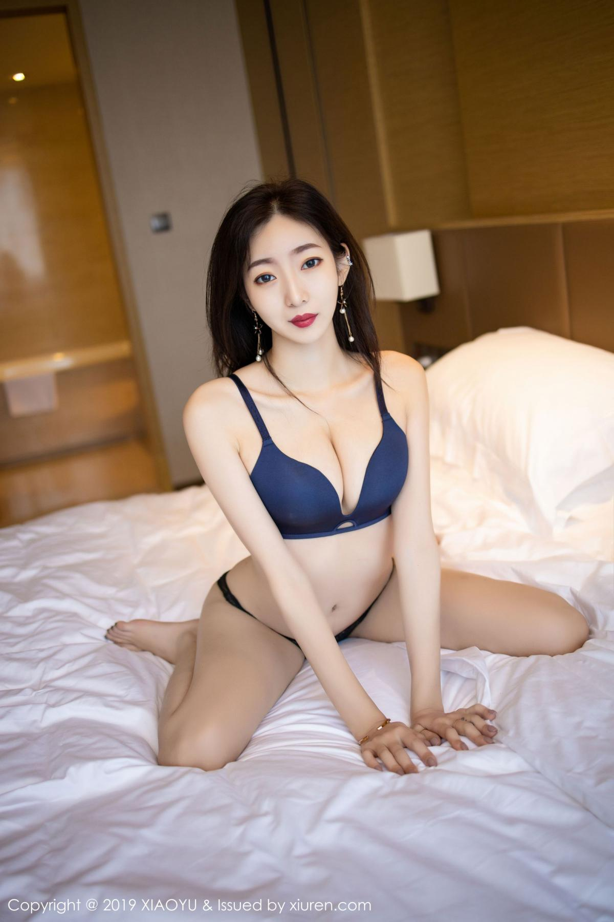[XiaoYu] Vol.203 An Qi Yee 63P, An Qi Yee, Black Silk, Tall, Uniform, XiaoYu