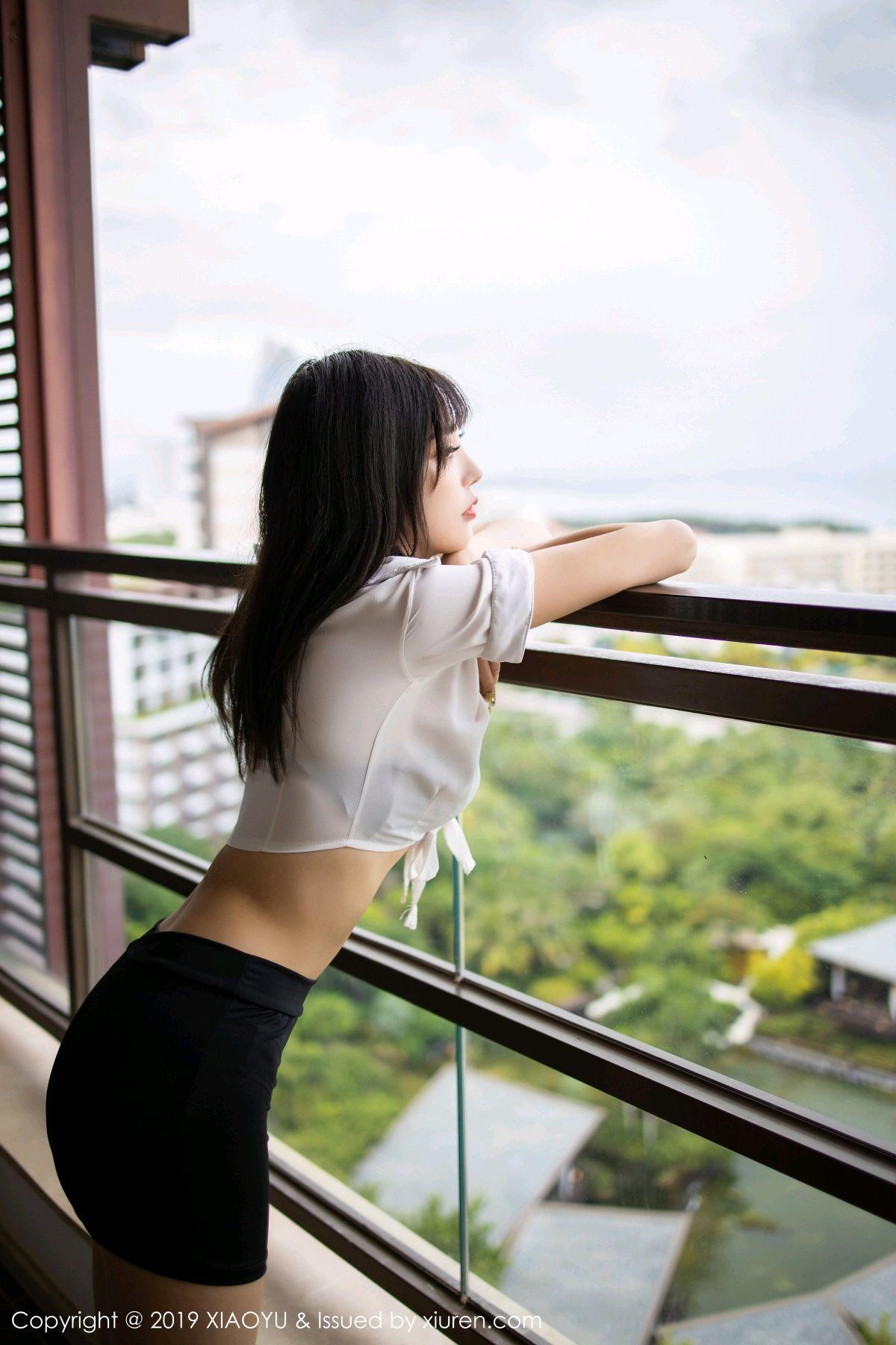 [XiaoYu] Vol.214 Yang Chen Chen 1P, Black Silk, Temperament, XiaoYu, Yang Chen Chen