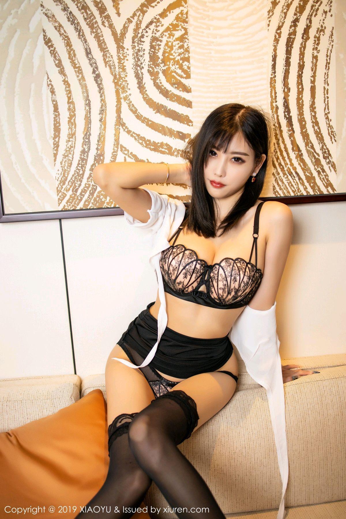 [XiaoYu] Vol.214 Yang Chen Chen 30P, Black Silk, Temperament, XiaoYu, Yang Chen Chen