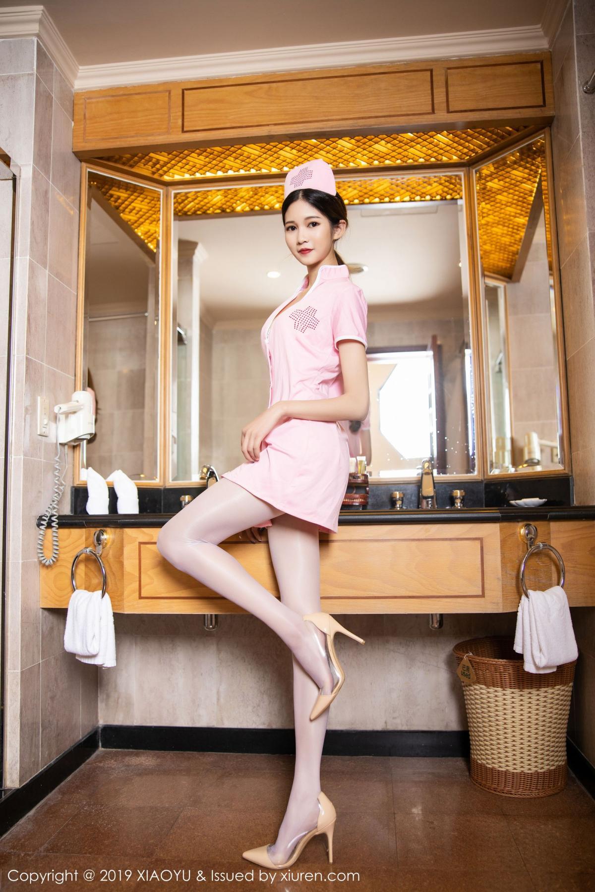 [XiaoYu] Vol.218 Cheng Cheng Cheng 3P, Cheng Cheng Cheng, Nurse, Tall, XiaoYu