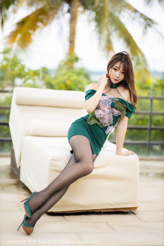 [XiaoYu] Vol.220 Zhi Zhi Booty 12P, Chen Zhi, Cheongsam, Tall, XiaoYu
