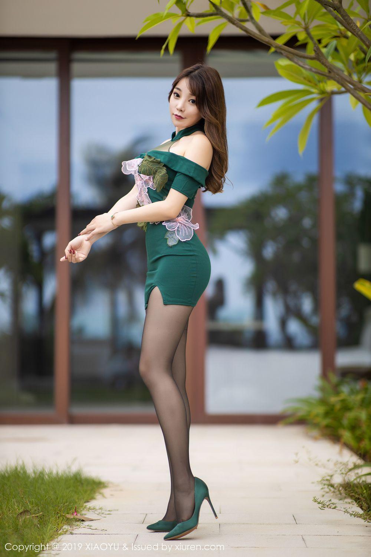 [XiaoYu] Vol.220 Zhi Zhi Booty 1P, Chen Zhi, Cheongsam, Tall, XiaoYu