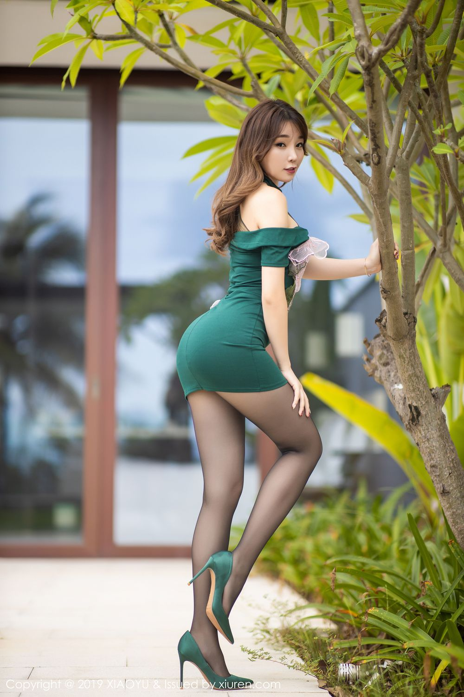 [XiaoYu] Vol.220 Zhi Zhi Booty 3P, Chen Zhi, Cheongsam, Tall, XiaoYu