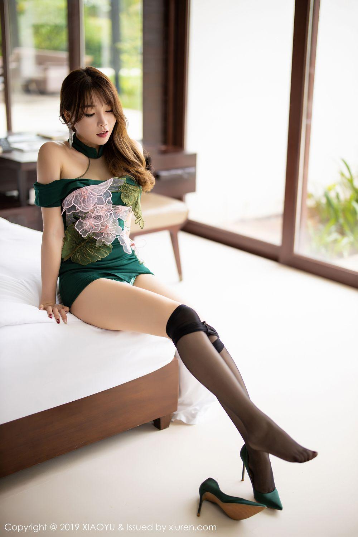 [XiaoYu] Vol.220 Zhi Zhi Booty 48P, Chen Zhi, Cheongsam, Tall, XiaoYu