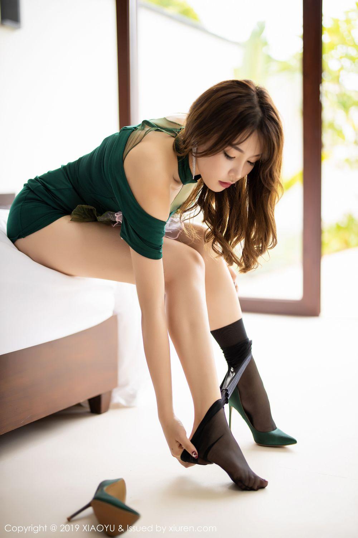 [XiaoYu] Vol.220 Zhi Zhi Booty 52P, Chen Zhi, Cheongsam, Tall, XiaoYu