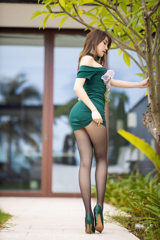 [XiaoYu] Vol.220 Zhi Zhi Booty 8P, Chen Zhi, Cheongsam, Tall, XiaoYu
