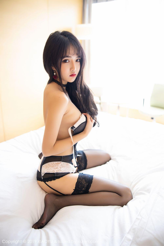 [XiaoYu] Vol.222 Miko Jiang 106P, Black Silk, Christmas, Miko Jiang, Tall, XiaoYu