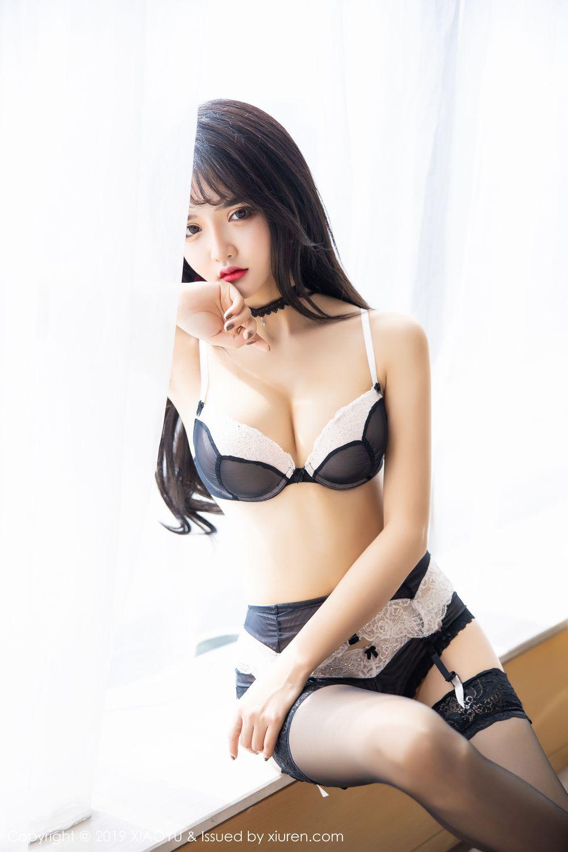 [XiaoYu] Vol.222 Miko Jiang 50P, Black Silk, Christmas, Miko Jiang, Tall, XiaoYu