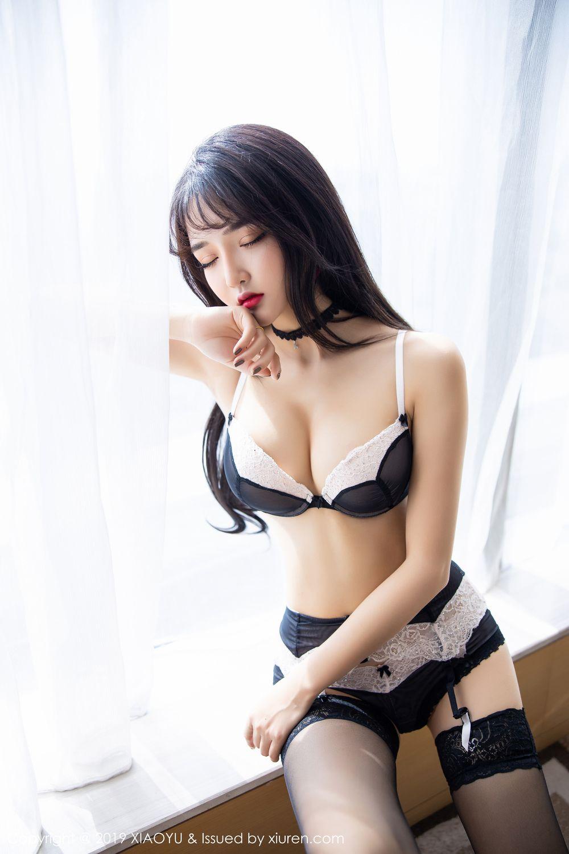 [XiaoYu] Vol.222 Miko Jiang 52P, Black Silk, Christmas, Miko Jiang, Tall, XiaoYu