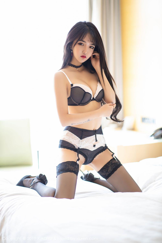 [XiaoYu] Vol.222 Miko Jiang 66P, Black Silk, Christmas, Miko Jiang, Tall, XiaoYu