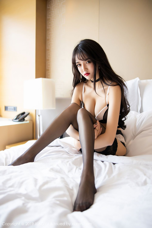 [XiaoYu] Vol.222 Miko Jiang 96P, Black Silk, Christmas, Miko Jiang, Tall, XiaoYu