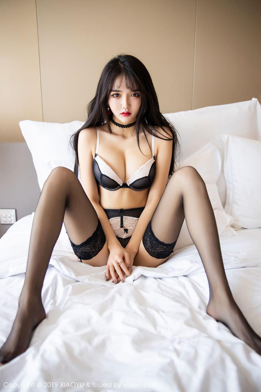 [XiaoYu] Vol.222 Miko Jiang 97P, Black Silk, Christmas, Miko Jiang, Tall, XiaoYu