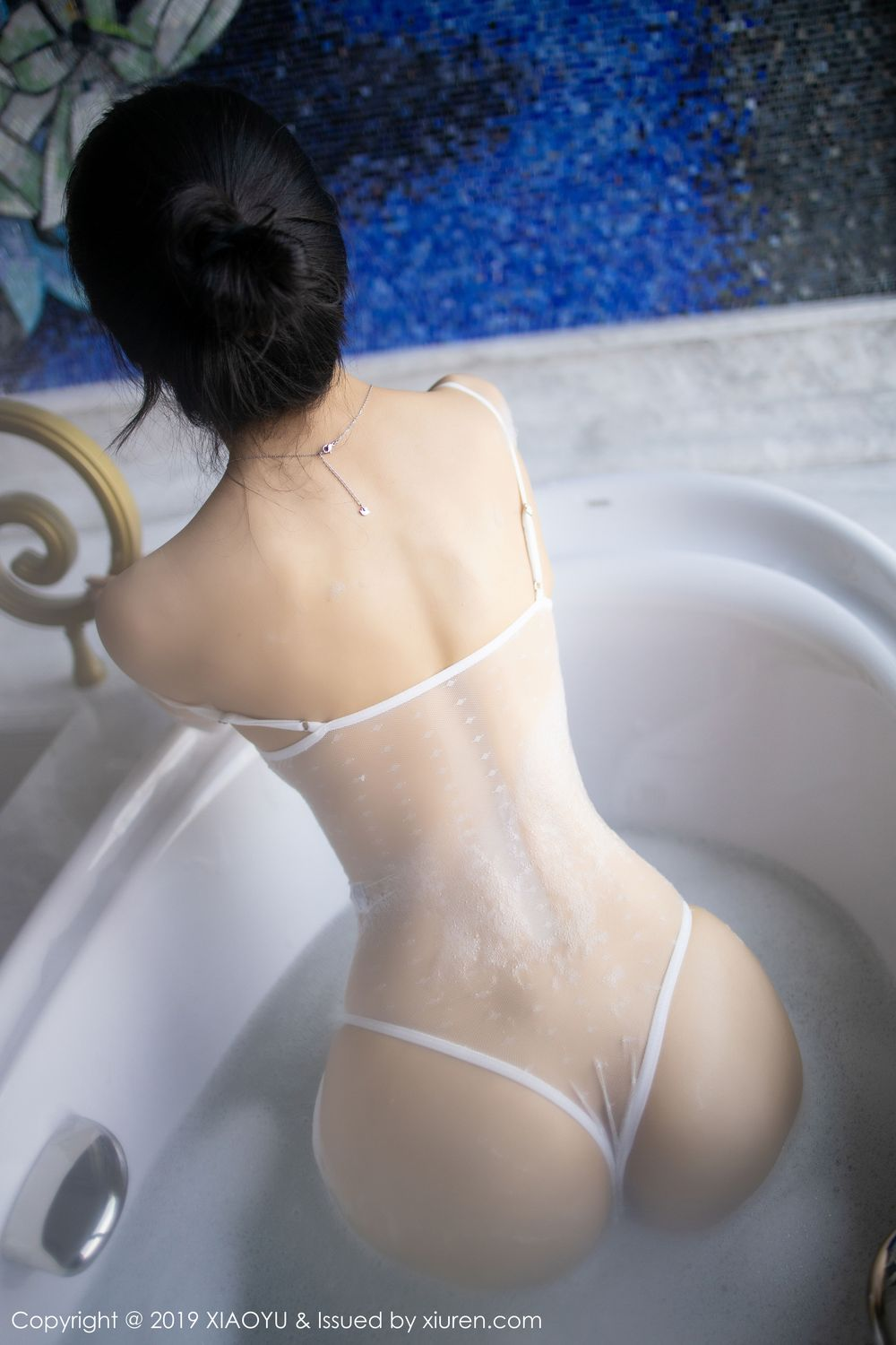 [XiaoYu] Vol.223 Xiao Re Ba 40P, Di Yi, Tall, Wet, XiaoYu