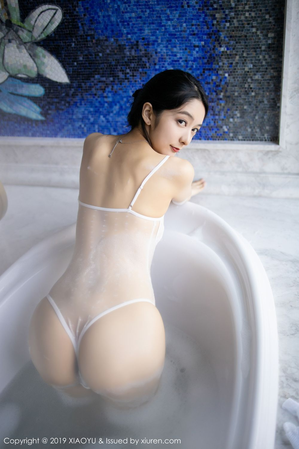 [XiaoYu] Vol.223 Xiao Re Ba 41P, Di Yi, Tall, Wet, XiaoYu