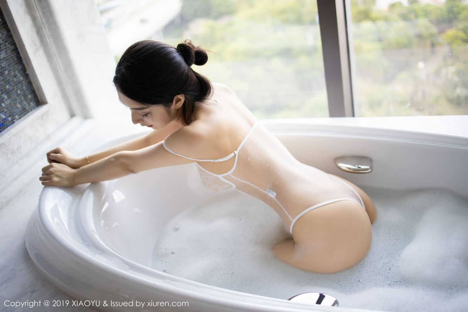[XiaoYu] Vol.223 Xiao Re Ba 48P, Di Yi, Tall, Wet, XiaoYu