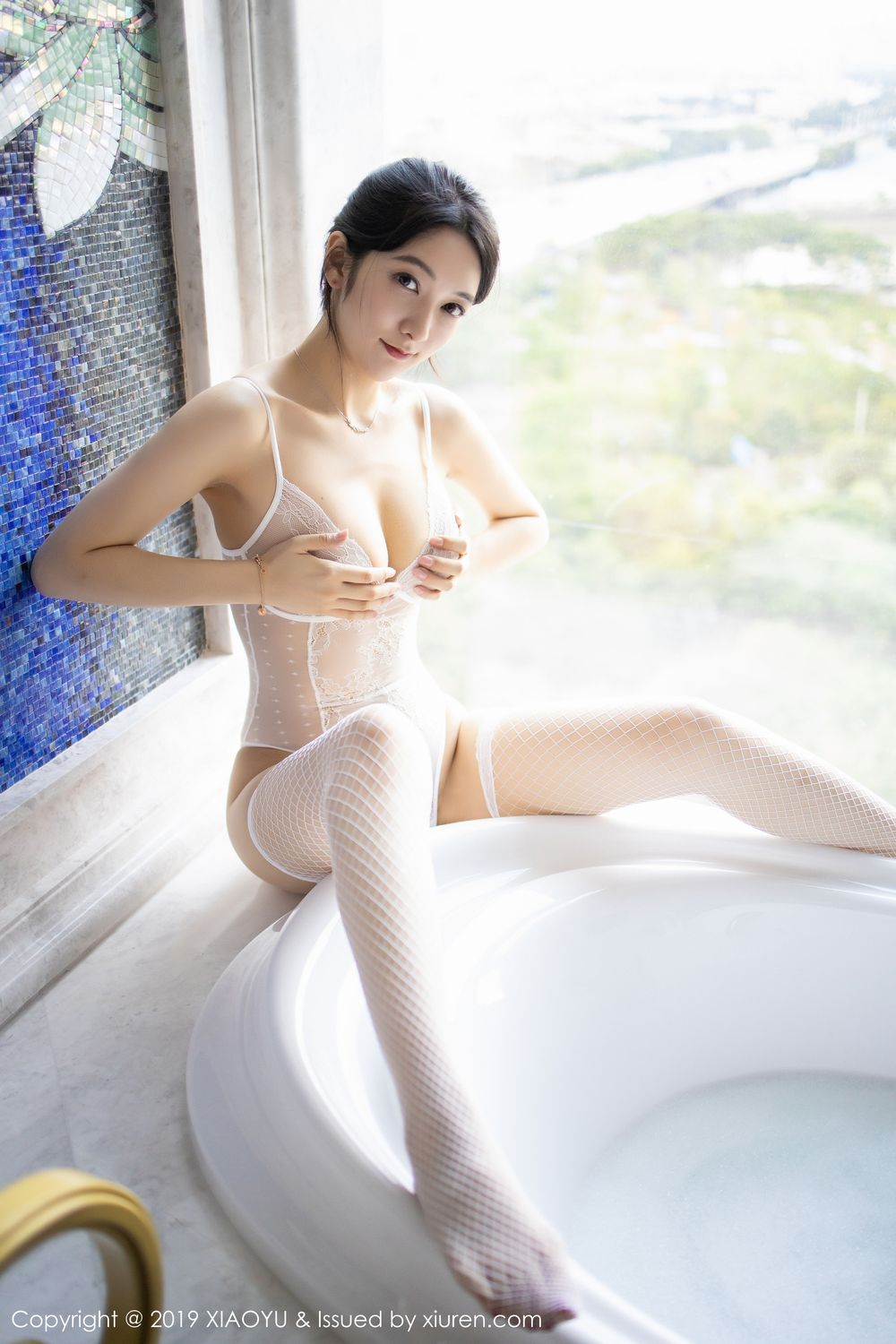 [XiaoYu] Vol.223 Xiao Re Ba 8P, Di Yi, Tall, Wet, XiaoYu