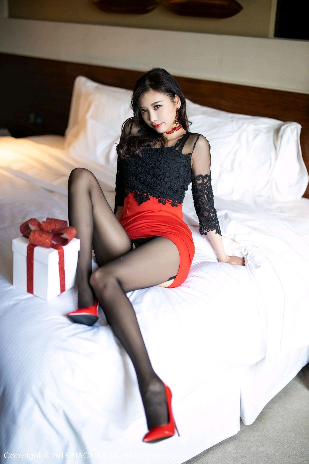 [XiaoYu] Vol.225 Yang Chen Chen 103P, Christmas, Underwear, XiaoYu, Yang Chen Chen