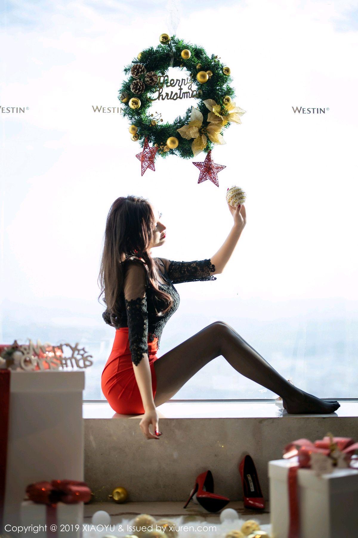 [XiaoYu] Vol.225 Yang Chen Chen 10P, Christmas, Underwear, XiaoYu, Yang Chen Chen