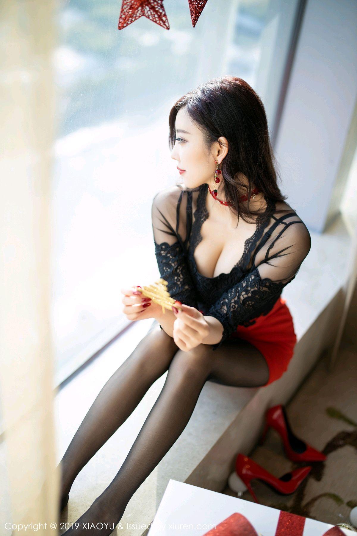 [XiaoYu] Vol.225 Yang Chen Chen 12P, Christmas, Underwear, XiaoYu, Yang Chen Chen