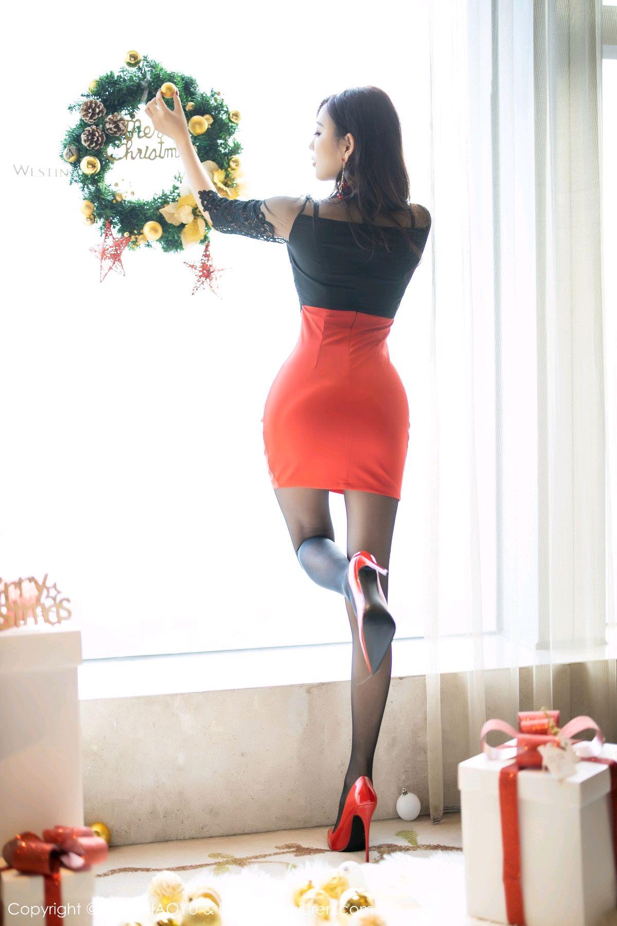 [XiaoYu] Vol.225 Yang Chen Chen 20P, Christmas, Underwear, XiaoYu, Yang Chen Chen