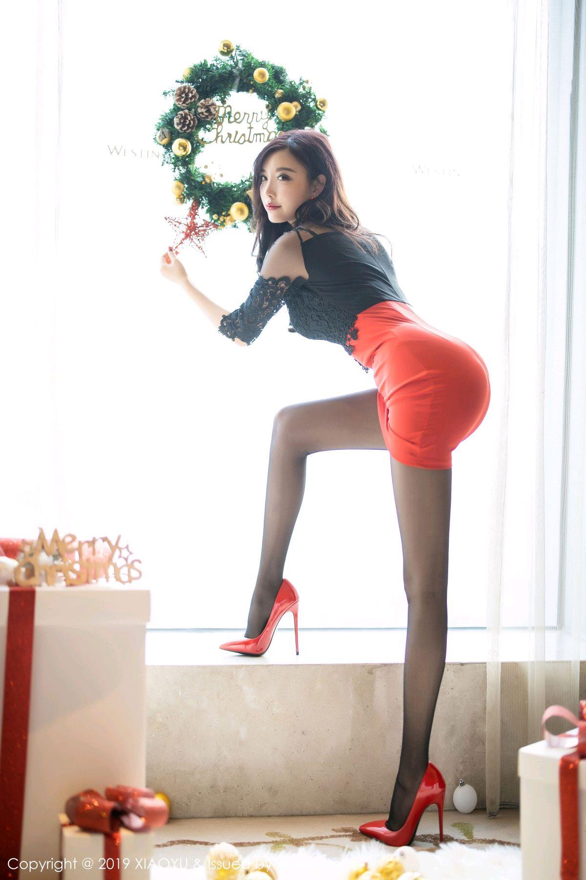 [XiaoYu] Vol.225 Yang Chen Chen 22P, Christmas, Underwear, XiaoYu, Yang Chen Chen