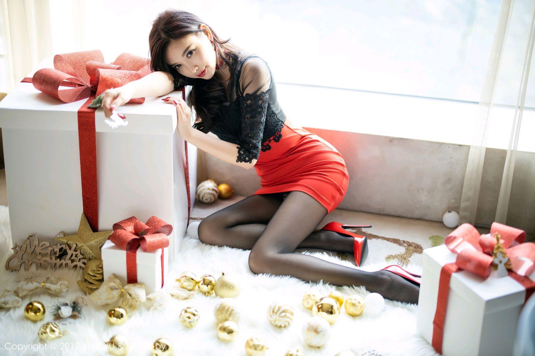 [XiaoYu] Vol.225 Yang Chen Chen 27P, Christmas, Underwear, XiaoYu, Yang Chen Chen