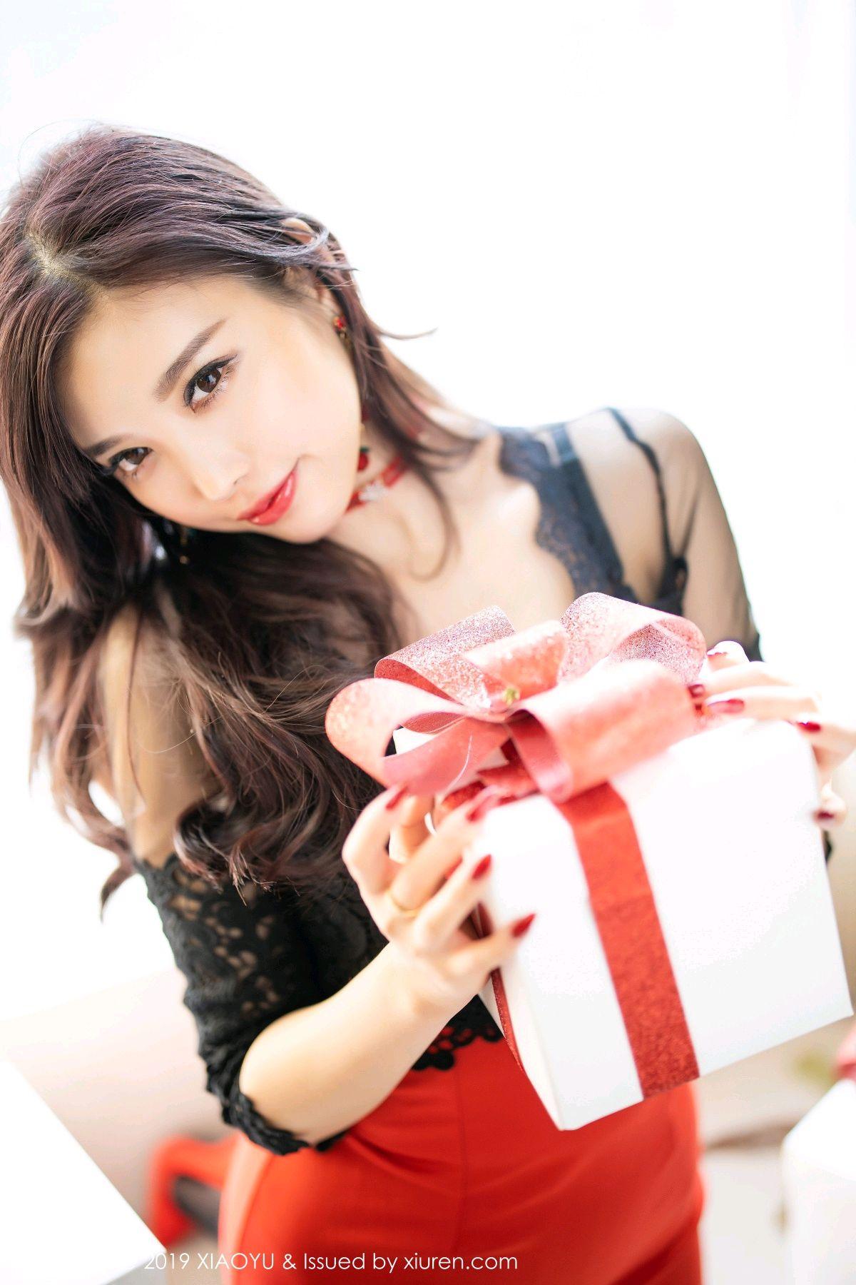 [XiaoYu] Vol.225 Yang Chen Chen 33P, Christmas, Underwear, XiaoYu, Yang Chen Chen