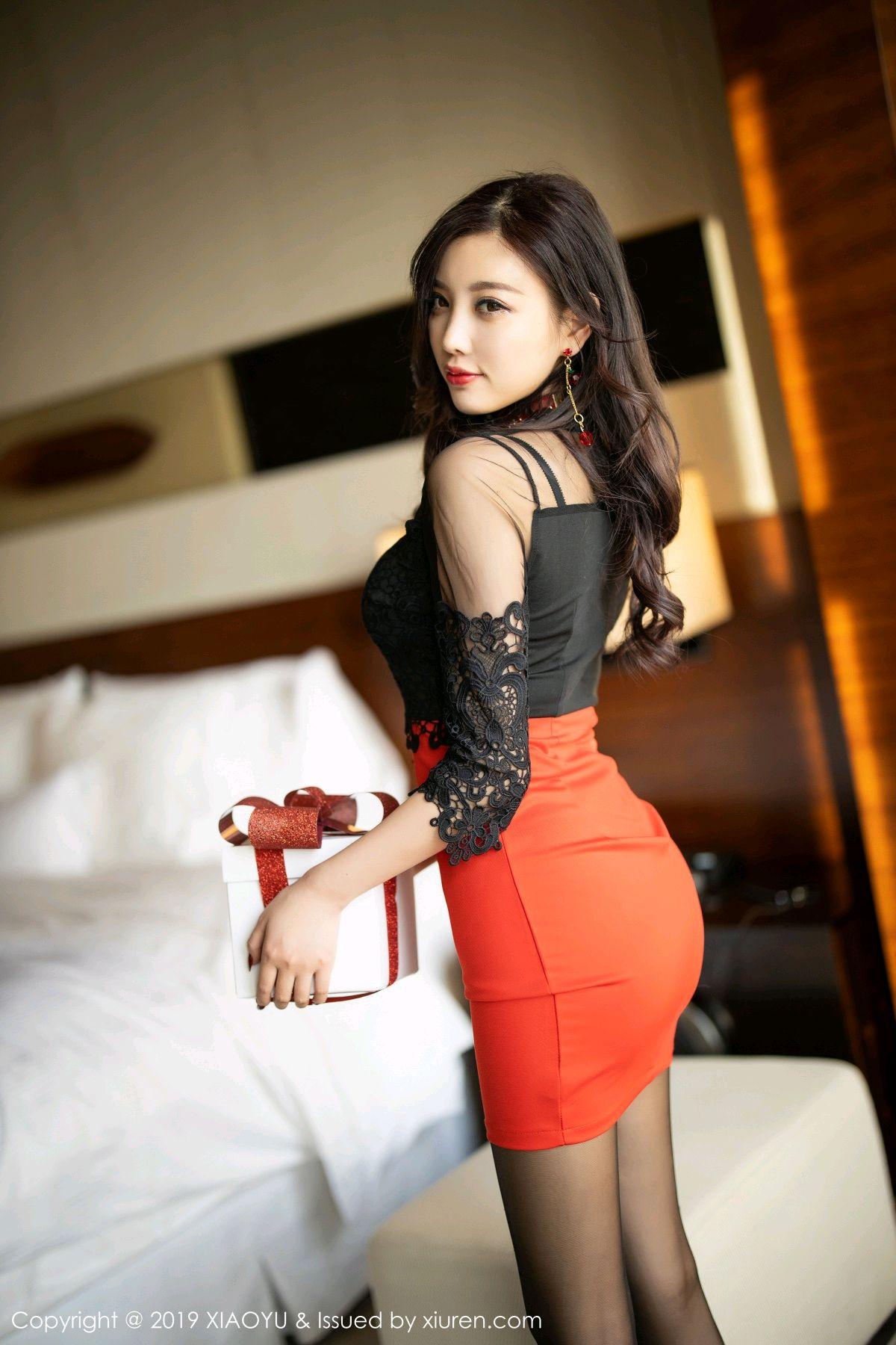 [XiaoYu] Vol.225 Yang Chen Chen 35P, Christmas, Underwear, XiaoYu, Yang Chen Chen